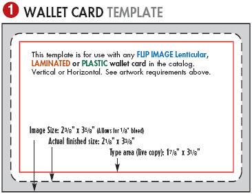 Wallet card template 28 images money wallet card for Medical alert wallet card template